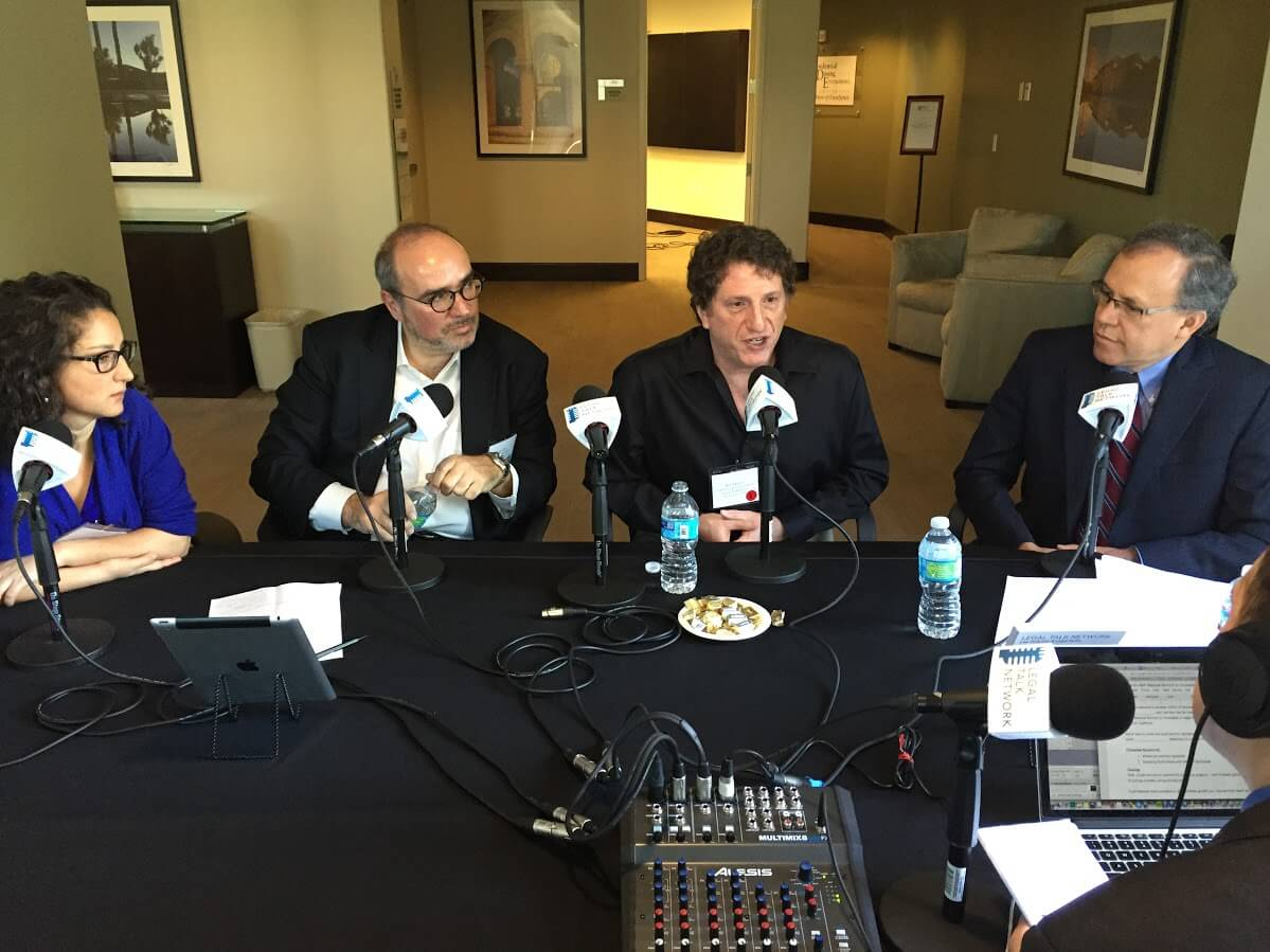 Interview at the 2015 ABA Futures Conference with Judit Rius Sanjuan, Ron Dolin, Dennis Weil, and Manny Medrano.