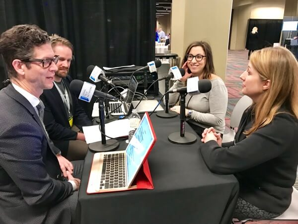 Patrick Palace interviews Nicole Bradick and Catherine Sanders Reach about how lawyers can compete with self-help legal technologies.