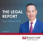 The Legal Report from Robert Half